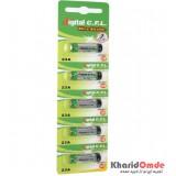 باتری ریموت کنترل 23 آمپر C.F.L Ultra Alkaline (کارت 5 تایی)