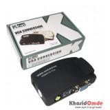 تبدیل Video و S-Video به VGA + کابل Knet