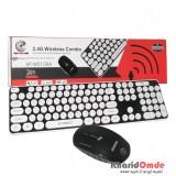 کیبورد و موس بی سیم XP مدل W5100A