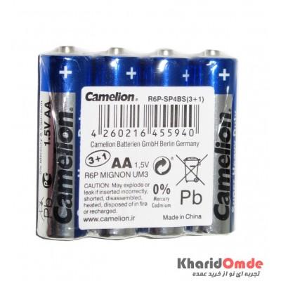 باتری قلمی Camelion شرینگ 4 تایی