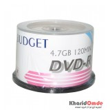 DVD خام Budget باکس 50 تایی
