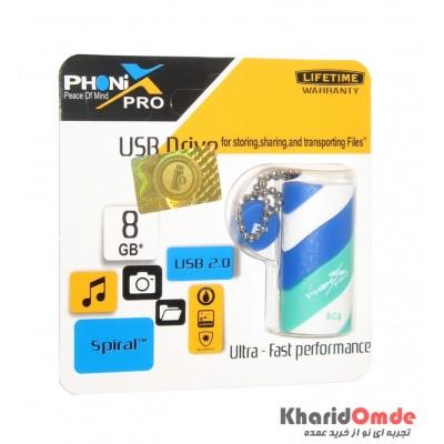 فلش PHONIX PRO مدل 8GB SPIRAL