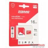 رم موبایل Prime 16GB MicroSDXC U3 V30 95MB/S خشاب دار