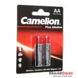 باتری قلمی Camelion مدل Plus Alkaline (کارتی 2 تایی)