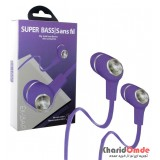 هندزفری Super Bass مدل EX-18AP بنفش