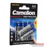 باتری قلمی Camelion مدل Super Heavy Duty (کارتی 6 تایی)