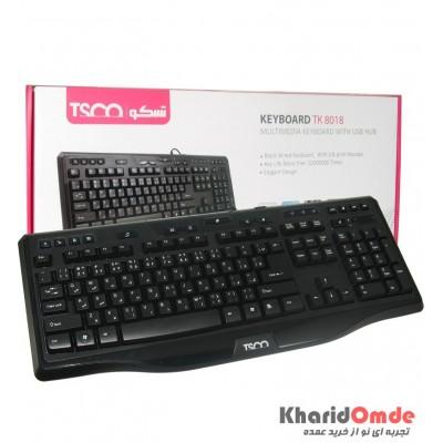 کیبورد TSCO مدل TK 8018