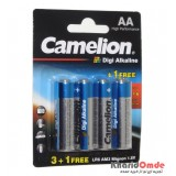 باتری قلمی Camelion Digi Alkaline (کارتی 4 تایی)
