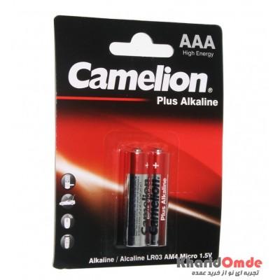 باتری نیم قلمی Camelion مدل Plus Alkaline (کارتی 2 تایی)