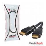 کابل 3D 1.4 HDMI طول 0.5 متر V-net
