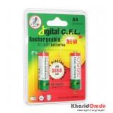 باتری قلمی شارژی C.F.L مدل 3850mAh (2تایی)