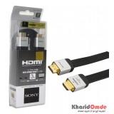 کابل 1.4 3D HDMI فلت طول 3 متر Sony مدل DLC-HE20HF رنگی