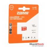 رم موبایل Prime 16GB MicroSDHC U1 60MB/S بدون خشاب
