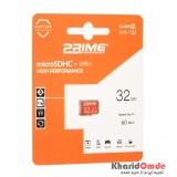 رم موبایل Prime 32GB MicroSDHC U1 60MB/S بدون خشاب