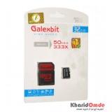 رم موبایل GalexBit مدل 32GB MicroSD 50Mb/S Turbo 333X خشاب دار