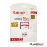 رم موبایل GalexBit مدل 32GB MicroSD 80Mb/S Turbo 533X خشاب دار