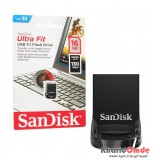 فلش SanDisk مدل 16GB USB3.1 Ultra Fit