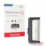 فلش SanDisk مدل 32GB Dual Drive USB TYPE-C