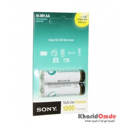 باتری قلمی شارژی Sony مدل Alkaline 2700mAh