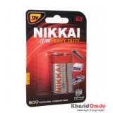باتری کتابی NIKKAI مدل Extra Heavy Duty 6F22