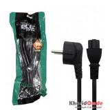 کابل برق 3 پین لپ تاپ 3x1 طول 1.5 متر Knet Plus