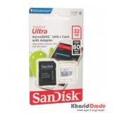 رم موبایل SanDisk مدل 32GB U1 80MB/S 533X خشاب دار