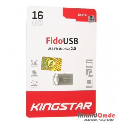 فلش KingStar مدل 16GB Fido USB KS218