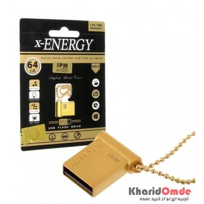فلش X-Energy مدل 64GB Gold