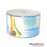 DVD خام پرینتیبل Vistac شرینگ 50 تایی