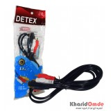 کابل 1 به 2 صدا طول 1.8 متر Detex