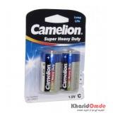 باتری سایز متوسط Camelion مدل Super Heavy Duty کارتی
