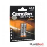 باتری نیم قلمی شارژی Camelion مدل 1100mAh (کارتی 2 تایی)
