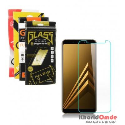 گلس 3 میل Samsung A8 Plus 2018 پک دار
