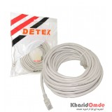 کابل شبکه Cat6 پچ کرد 10 متری Detex