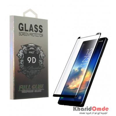گلس Samsung Note 9 Black 9D