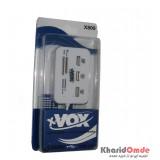 هاب USB + رم ریدر xVOX مدل X809