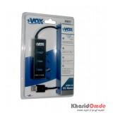 هاب 4 پورت xVOX مدل X801