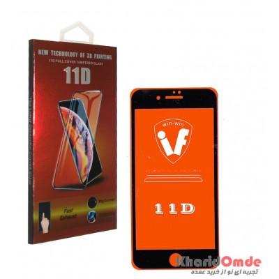 محافظ گلس صفحه نمایش 11D مناسب برای گوشی iPhone 7 Plus