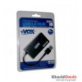 هاب 4 پورت xVOX مدل X802