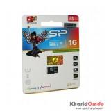 رم موبایل Silicon Power مدل 16G MicroSD U1 Class10 85MB/S