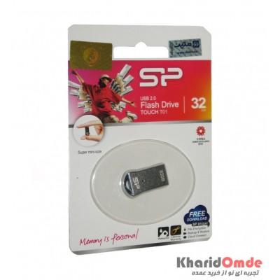 فلش Silicon Power مدل 32G TOUCH T01 USB 2.0