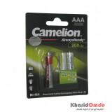 باتری نیم قلمی شارژی Camelion مدل AlwaysReady 900mAh (کارتی 2 تایی)