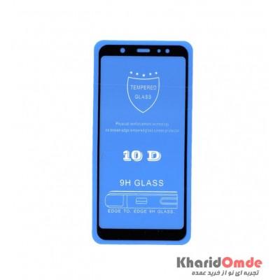محافظ گلس صفحه نمایش 10D مناسب برای گوشی A6 Plus بدون پک