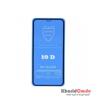 محافظ گلس صفحه نمایش 10D مناسب برای گوشی XR بدون پک