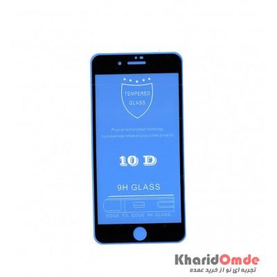 محافظ گلس صفحه نمایش 10D مناسب برای گوشی iPhone 8 Plus بدون پک