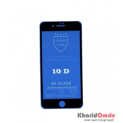 محافظ گلس صفحه نمایش 10D مناسب برای گوشی iPhone 7 Plus بدون پک