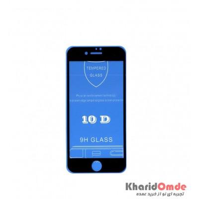 محافظ گلس صفحه نمایش 10D مناسب برای گوشی iPhone 7 بدون پک