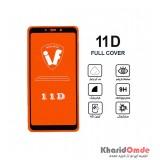 محافظ گلس صفحه نمایش 11D مناسب برای گوشی A9s بدون پک