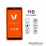 محافظ گلس صفحه نمایش 11D مناسب برای گوشی A6 plus بدون پک