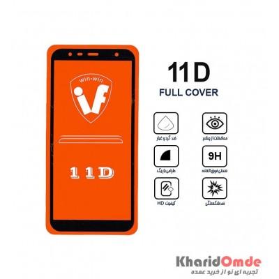 محافظ گلس صفحه نمایش 11D مناسب برای گوشی J4 core بدون پک